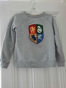 Mini Boden Gr. 140, Harry-Potter-Kollektion, Sweatshirt Hogwarts