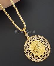 Osmanli Tugra Gold Münze Kette 22 Ayar Altin Kaplama Kolye Ceyrek Halskette