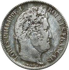 O1892 1 Franc Louis Philippe 1846 A Paris Argent Silver ->Make offer