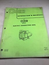 Heavy Equipment Manuals & Books for Onan Generator for sale ... on