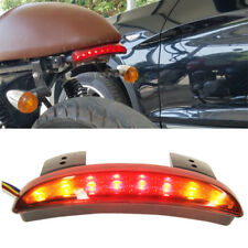 LED Turn Signals 12v Brake Tail Light For Motorcyle Bobber Cafe Racer Clubman MT