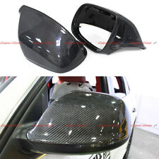 Carbon Fiber Mirror Covers for Audi Q5 Q7 SQ5 with Side Assist 2010 - 2015