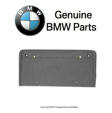 License Plate Base Primered Genuine BMW E39 5-Series 525i 528i 530i 540i M5