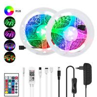 5-15M 2835/5050 60SMD/M RGB WIFI LED Strip Light Bar TV Back Lighting Full Kits