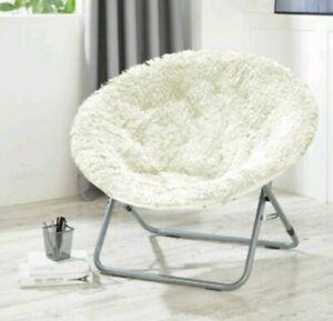 Mongolian Oversized Moon Chair