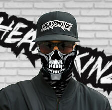 FACE MASK / BANDANA - SKULL ARMED & DANGEROUS (Motorbike, Fishing, Hunting)