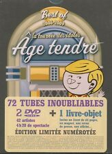 Age tendre - la tournée des idoles : Best of 2006 - 2009 (2 DVD + Livre-objet)