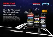 NewCoat International Car Ceramic Shield Car Care Detailing Kit Bag Black