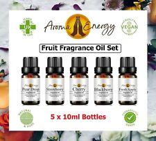FRUIT Essential FRAGRANCE Oil Set Pure Fragrance Oils Candles Soaps Diffuser