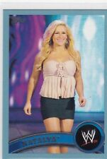 2011 TOPPS WWE SEXY NATALYA BLUE PARALLEL WRESTLING CARD #6  2011 MADE