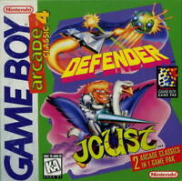Arcade Classic #4: Defender and Joust - Nintendo Game Boy GB