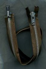 29 inch Brown & Nickel #10 Heavy Duty 2 Way/2 Pull Separating Talon Zipper