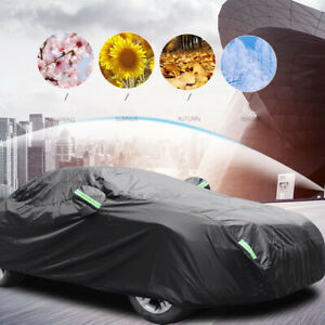 Car Full Cover Waterproof UV Sun Dust Rain Resistant Storage Protection Cover