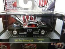 47dd1df8216ce M2 MACHINES 1968 FORD MUSTANG 390 WAL-MART ONLY w  ACRYLIC DISPLAY CASE