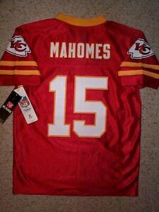 (2020-2021) Kansas City Chiefs PATRICK MAHOMES Jersey YOUTH KIDS BOYS (m-medium)