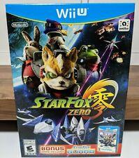 Star Fox Zero + Star Fox Guard - ⚡️ NEW AND SEALED (Wii U, 2016)