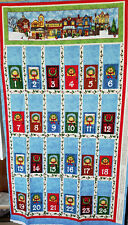 All Around the Town Fabric Advent Calendar - Cotton