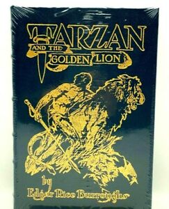 Easton Press TARZAN AND THE GOLDEN LION Burroughs Collectors LIMITED Edition NEW