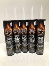 5 Tubes Auto Body Professional Seam Sealer Black 300 Ml
