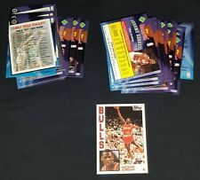 1992-93 Topps Archives Basketball Complete Set (1-150) w/Michael Jordan ]