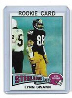 1975 Topps # 282 LYNN SWANN ROOKIE RC REPRINT Pittsburgh Steelers Sweet LOOK !