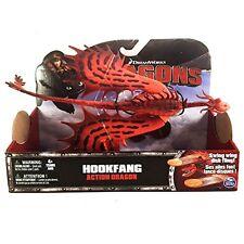 Dreamworks Dragons Action Dragon Figure, Hookfang