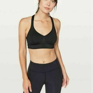 Lululemon Speed Up Bra Black Size C/D Brand New with tags