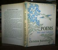 Rainsford, Christina POEMS, NEW AND COLLECTED  1st Edition 1st Printing