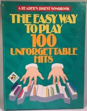 Reader's Digest EZ Play 100 Unforgettable Hits Piano Voice