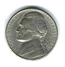 1986-P Philadelphia Circulated AU to XF's Jefferson Five Cent Coin!