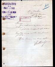 "CHOISY-le-ROI (94) FAIENCERIES / FAIENCE ""COOPERATIVE de la FAIENCERIE"" en 1936"
