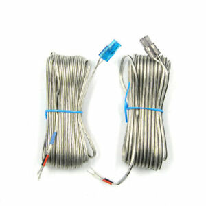 2 Samsung Home Surround Sound Spk Cable Wire Grey & Blue Connector 10 Metre long