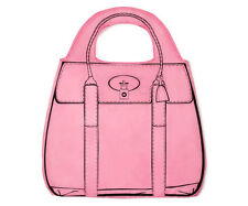 Shopper-Holic Einkaufstasche in Pink von Mustard
