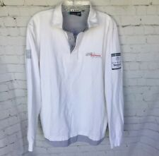 Pelle Petterson Artemis Racing Challenger 34th America's Cup Polo Shirt White L