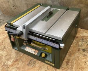 PROXXON F.E.T. Precision Circular Saw Bench Hobby Craft VGC Table