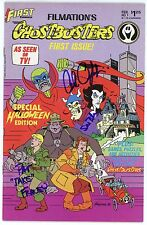 "PAT FRALEY+2 Authentic Hand-Signed ""FILMATIONS GHOSTBUSTERS"" Comic (EXACT PROOF)"