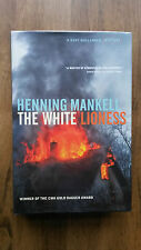 Henning Mankell– The White Lioness (1st/1st UK 2003 hb with dw) SIGNED Wallander