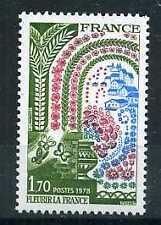 FRANCE - 1978 - yvert 2006 - Fleurs - neuf**