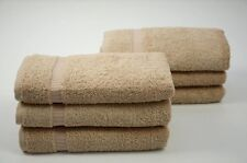 Luxury Hotel and Spa Collection Bath Hand Towels Set of 6 100% Turkish Cotton