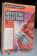 Mystère-Magazine 26 Nouvelles policières et Mystérieuses série 16 OPTA 1952