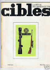 CIBLES N°45  ARMES TIR CHASSE / HUNTING ARMS