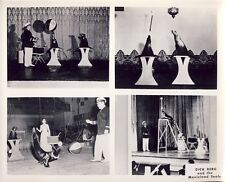 DICK BERG and the MOVIELAND DEALS CIRCUS PERFORMER ACT 8X10 Photo c 1950s