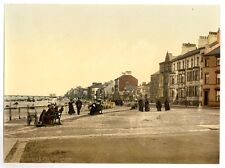 2 Large Victorian Views Redcar Esplanade Beach Prom Vintage Photos Prints Poster