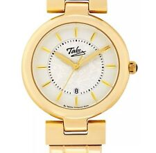 Tabitha Webb Ladies Quartz Gold Plated Stainless Steel Bracelet Watch TLB00007