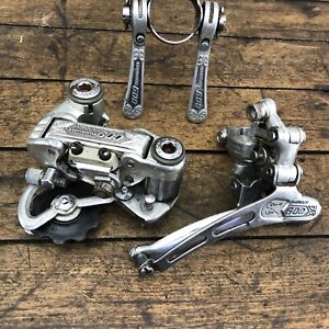 Shimano 600 Arabesque Derailleur Shifter Long Cage Vintage Group Rear Front 1978