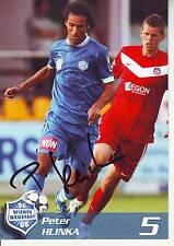 FOOTBALL carte joueur PETER HLINKA équipe SC WIENER NEUSTADT 08 signée