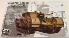 AFV Club 1/35 Churchill Mk.III British Infantry Tank