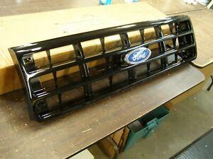 NOS OEM Ford 1987 1991 Truck Grille F150 Nite Ed. Black 1988 1989 1990 Bronco