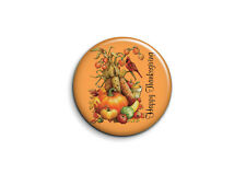 Badge Epingle 38mm Button Pin Fête Happy Thanksgiving