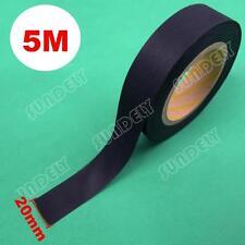 5m x 20mm Seam Sealing Tape Iron On Hot Melt Wetsuit Tape Dry Suit Scuba Black